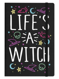 Notitieboek - Life's A Witch - A5