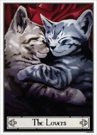 Mini poster - Deadly Tarot Felis - The Lovers
