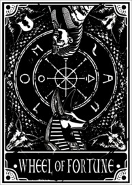 Mini poster - Deadly Tarot Wheel Of Fortune
