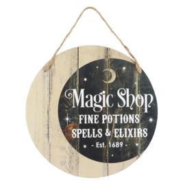 Tekstbord - Magic Shop - MDF