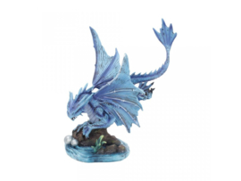 Anne Stokes beeld - Adult Water Dragon - 31cm