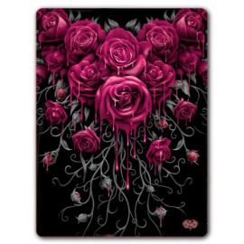 Fleece deken - Blood Rose