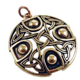 Celtic Circle - hanger - Brons