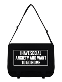 Messenger bag - Social Anxiety