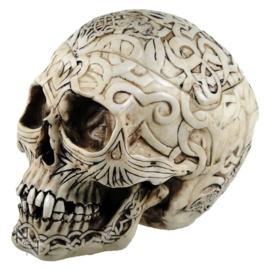 Schedel - Celtic Skull Box - 20cm
