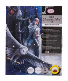 Crystal Art Kit - Midnight Messenger - Anne Stokes