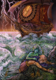 Puzzel - The Mermaid and the Prince - Josephine Wall
