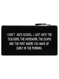 Etui - I Don't Hate School