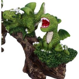 Beeld - Daring Dragonlings - 22,7cm