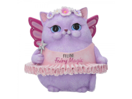 Beeldje - Feline Fairy Magic - 8,5cm
