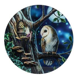 Lisa Parker - Fairy Tales - Glazen bijzettafel