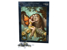 Puzzel - Fairy and Owl - James Ryman