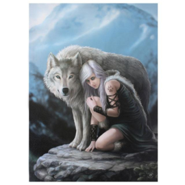 Canvas 50x70cm  - Protector - Anne Stokes