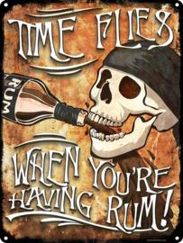 Tin sign - Grab A Bottle!