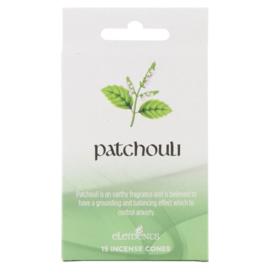 Elements - Patchouli -  incense cones