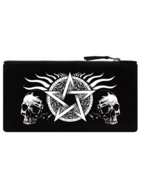 Etui - Skull Pentagram