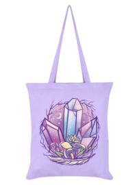 Tote bag - Mystical Mushrooms Lilac