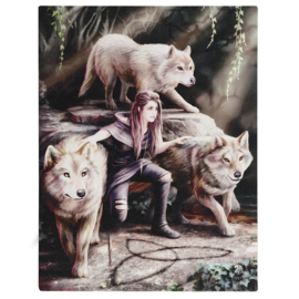 Canvas - Power of Three - Anne Stokes