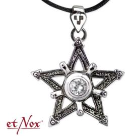 etNox - pendant Big Pentagram - Stainless steel