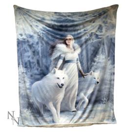 Fleece deken Winter Guardians - Anne Stokes