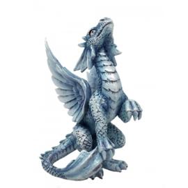 Anne Stokes - Baby Silver Dragon - 11,5cm