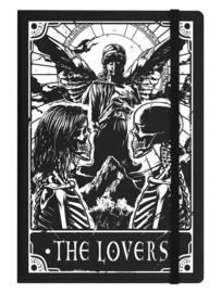 Notitieboek - Deadly Tarot The Lovers - A5