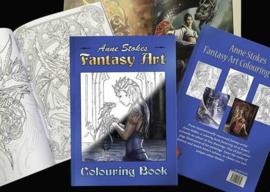 Fantasy Colouring Book - Anne Stokes