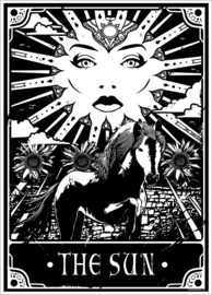 Mini poster - Deadly Tarot - The Sun