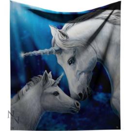Fleece deken - Sacred Love - Lisa Parker