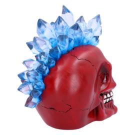 Schedel - Crystal Hawk Red - 20,3cm