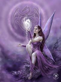 Anne Stokes - Celtic Fairy - 30 x 40cm 3Dprint