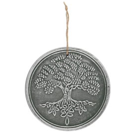 Wall Plaque - Tree of Life - Terracotta