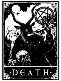 Mini poster - Deadly Tarot - Death