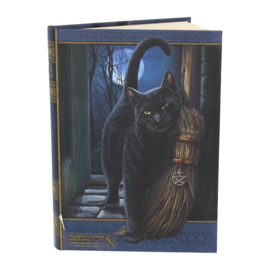 Embossed Journal A Brush With Magick - Lisa Parker