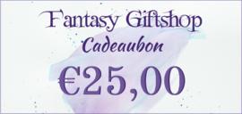 Cadeaubon - €25,00