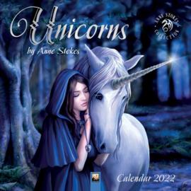 Anne Stokes kalender 2022 - Unicorns