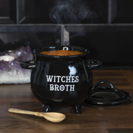 Soepkom - Witches Broth - Met lepel