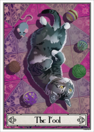 Mini poster - Deadly Tarot Felis - The Fool