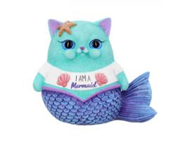 Beeldje - I am a Mermaid - 8,5cm