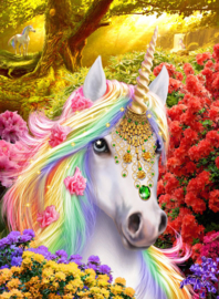 Crystal Art Kit - Unicorn Forest - Craft Buddy ®
