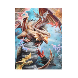 Canvas - Dragon Clan - Anne Stokes