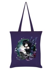 Tote bag - Hexxie Paige Black Is My Happy Colour