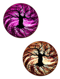 Set/4 onderzetters - Tree Of Life