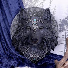 Wolf Moon - wandornament - 30cm