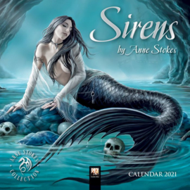 Anne Stokes kalender 2021 - Sirens