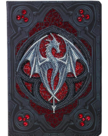 Crystal Art Notebook - Valour Alter Drake - Anne Stokes