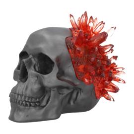Skull - Garnet Crystal - 17,6cm