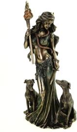 Beeld - Hecate Goddess of Magic -  34cm