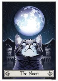 Mini poster - Deadly Tarot Felis - The Moon