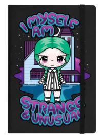 Notitieboek - Mio Moon I Myself Am Strange & Unusual - A5